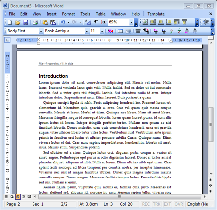 where to save word templates